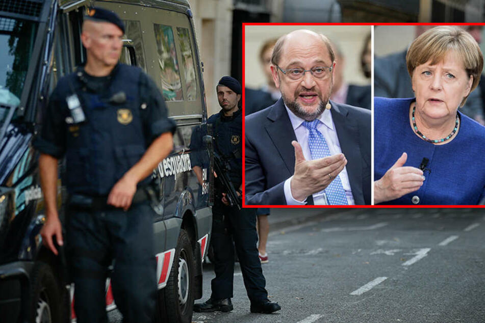 Barcelona-Anschlag: SPD und CDU schränken Wahlkampf ein