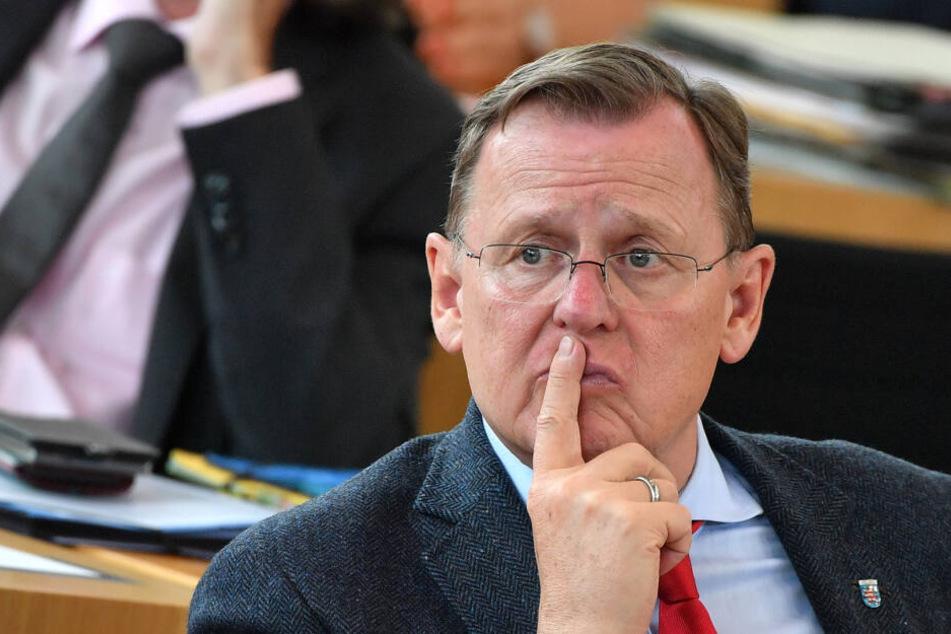 Bodo Ramelow ist Ministerpräsident von Thüringen, hier bei einer Landtagssitzung am Mittwoch.