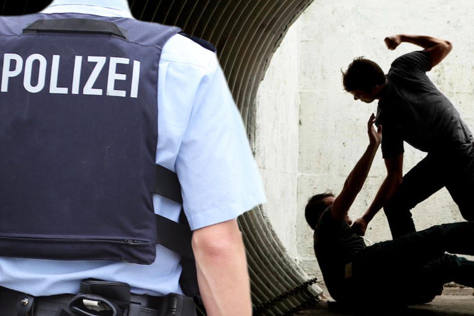 Die Polizei in Frankfurt fahndet nach fünf brutalen Schlägern (Symbolbild).