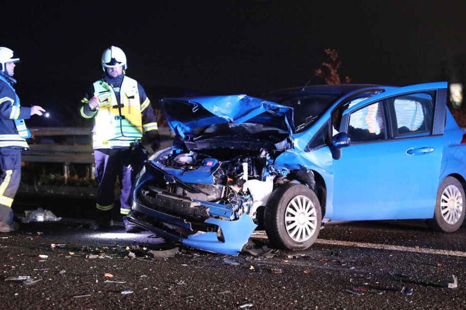 Das Auto des Rentner war nach dem Unfall nicht mehr fahrtüchtig.