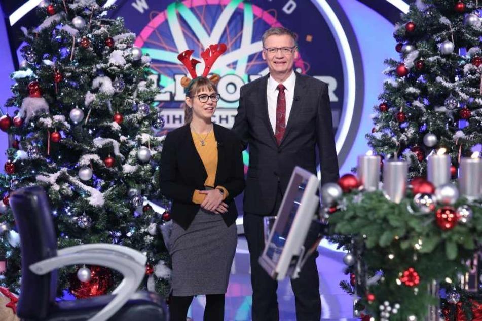 """Immerhin: Die Kandidatin gewann 64.000 Euro bei """"Wer wird Millionär""""."""