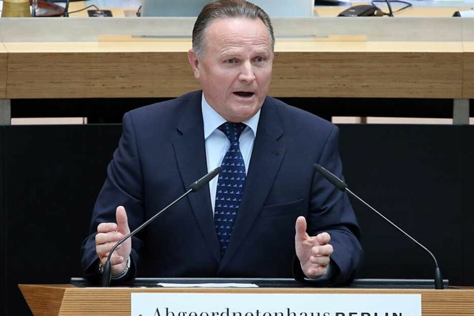 AfD-Fraktionschef Georg Pazderski.