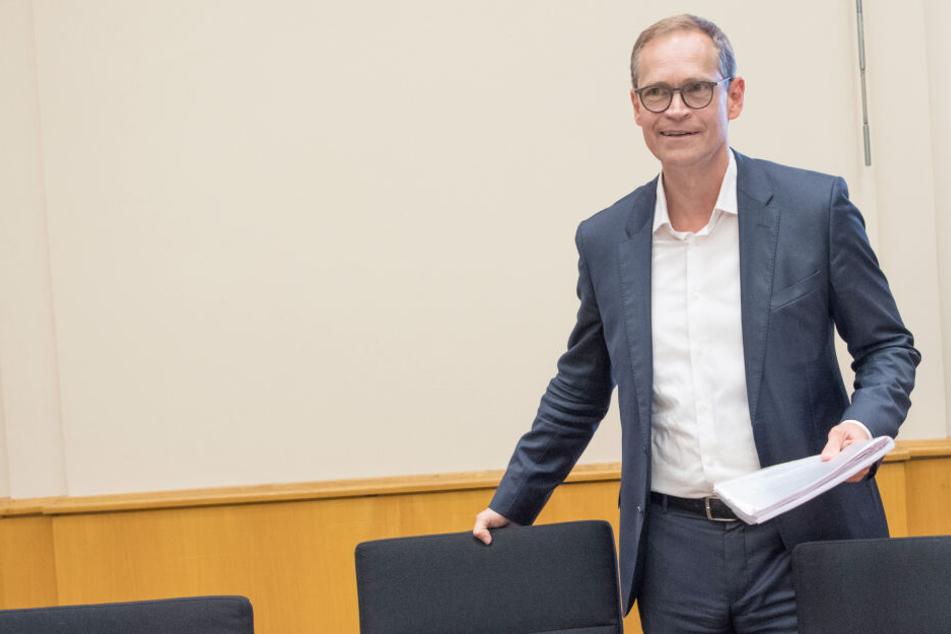 """Michael Müller begrüßt die Entscheidung der """"Deutsche Wohnen""""."""