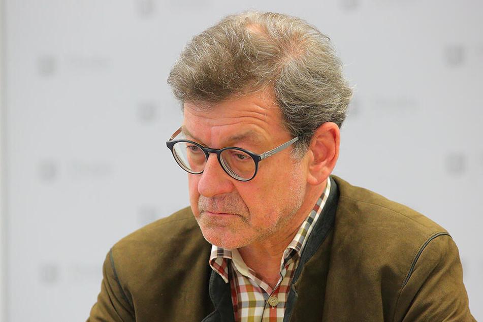Muss seinen Posten räumen: Amtsleiter Reinhard Koettnitz (64).