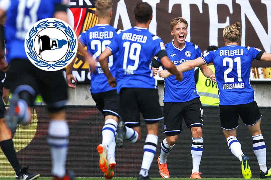 Erster Saisonsieg: Bielefeld besiegt Dresden dank überragendem Edmundsson