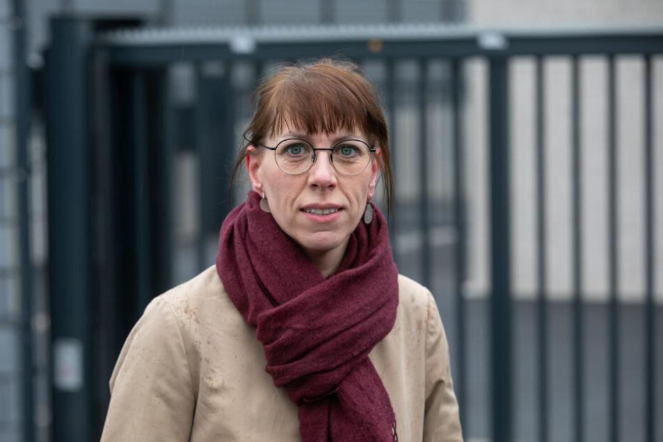 Katja Meier (39, Grüne) ist die Spitzenkandidatin für die Landtagswahlen.