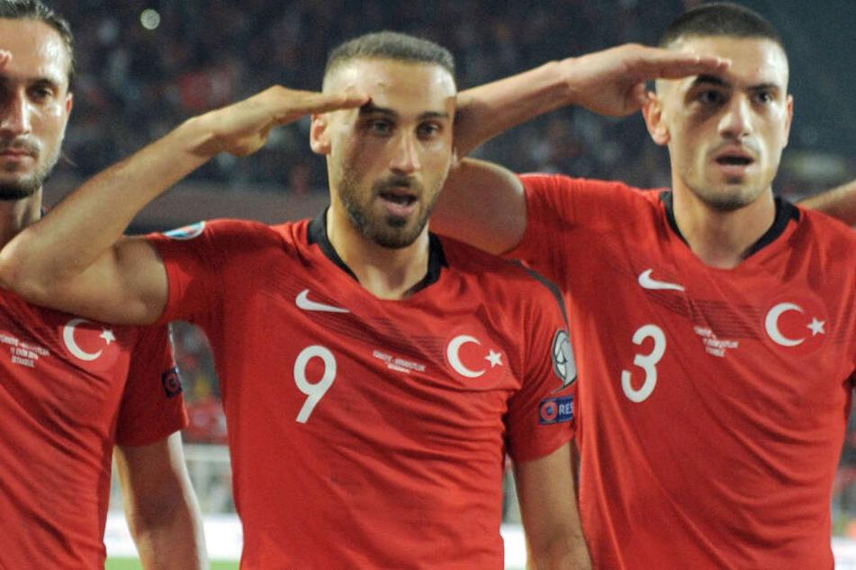 Türkischer Salut-Jubel: Weitere Fußballverbände wollen Nachahmer bestrafen!