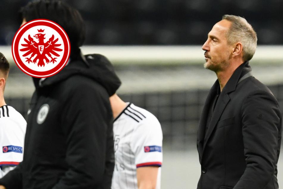 """Eintracht-Trainer nach Geisterspiel-Pleite gegen FC Basel: """"Das Ergebnis ist erschreckend"""""""