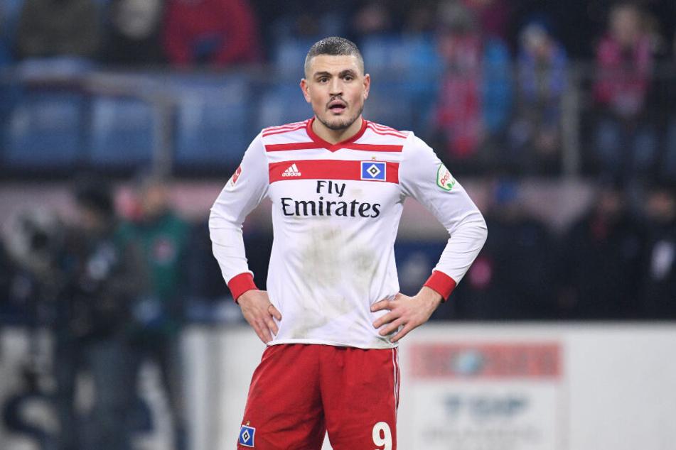 Kyriakos Papadopoulos ist enttäuscht. Nach seinem Knorpelschaden muss er in Hamburg bleiben.