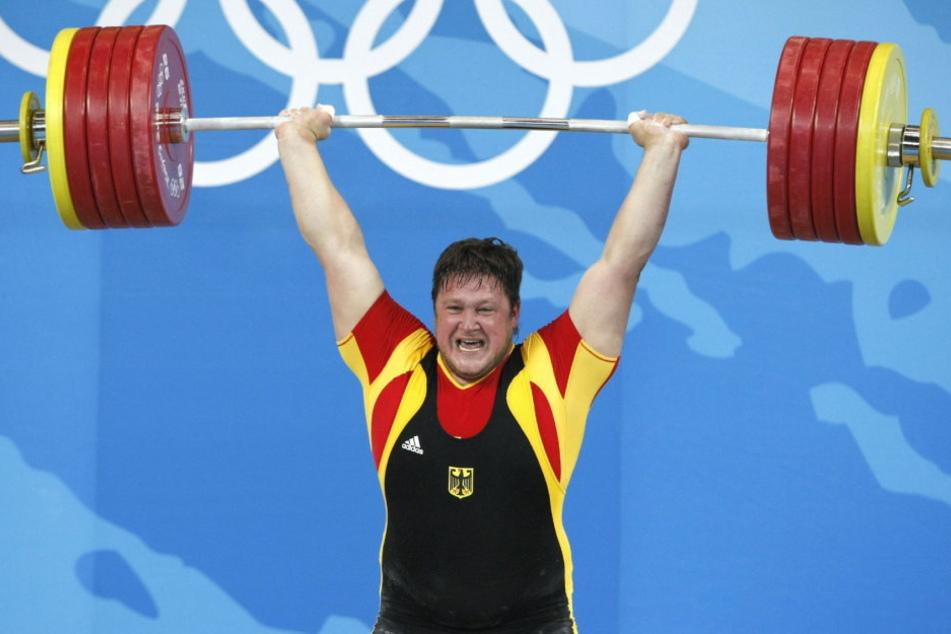Als Gewichtheber brachte Matthias Steiner noch 45 Kilo mehr auf die Waage.