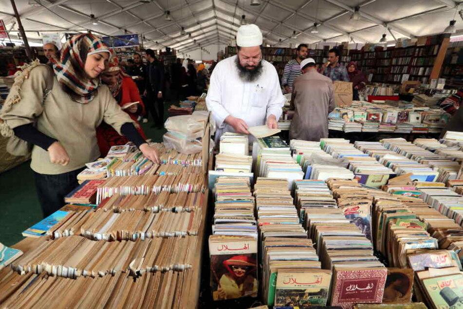 Tausende arabische Bücher bleiben in Besitz der Uni Frankfurt. (Symbolbild)