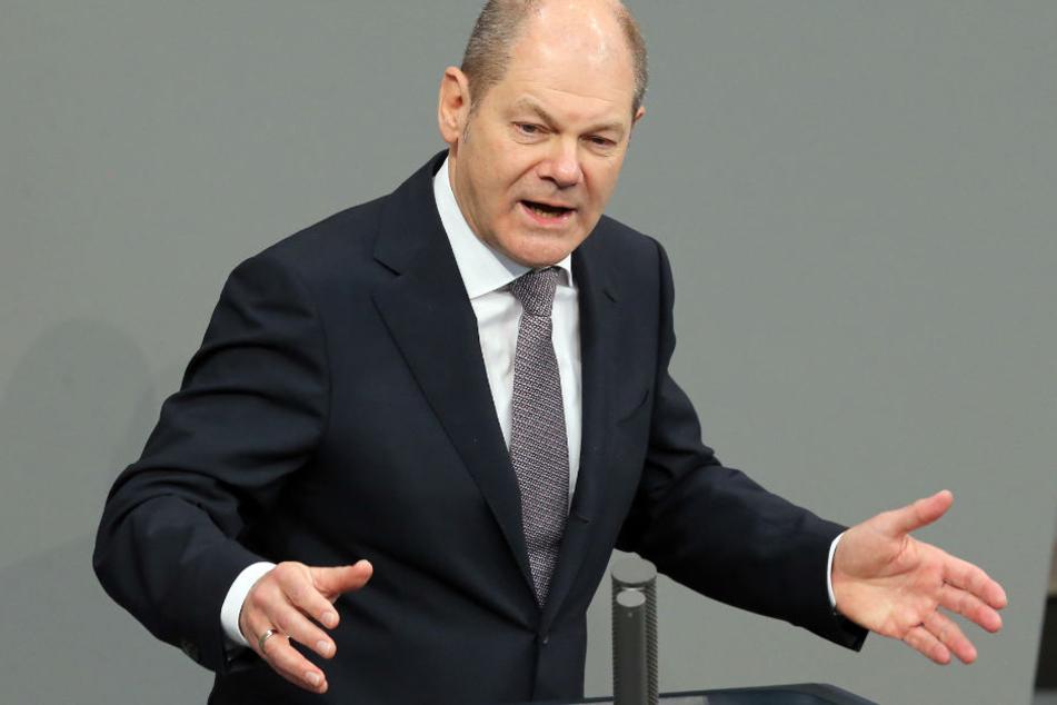 Olaf Scholz möchte nicht am Hartz-IV-Grundprinzip rütteln.