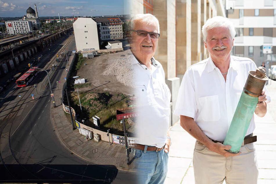 Dresden: Spannender Fund: Ein Stückchen DDR in der Grundstein-Kapsel