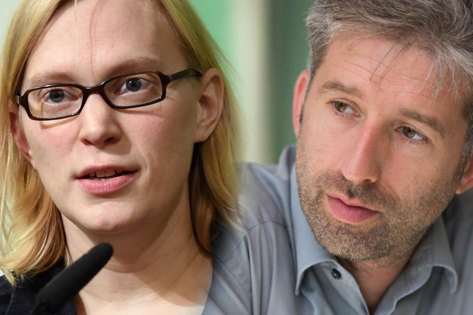 Nina Stahr (links) hat sich ihre Wut über die Facebook-Posts von Boris Palmer (rechts) von der Seele geschrieben. (Fotomontage/Archivbilder)