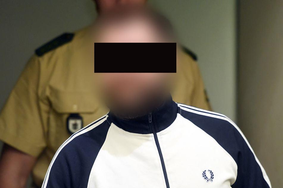 Erneut sorgte der Angeklagte André E. für eine Unterbrechung des Prozesses in München.