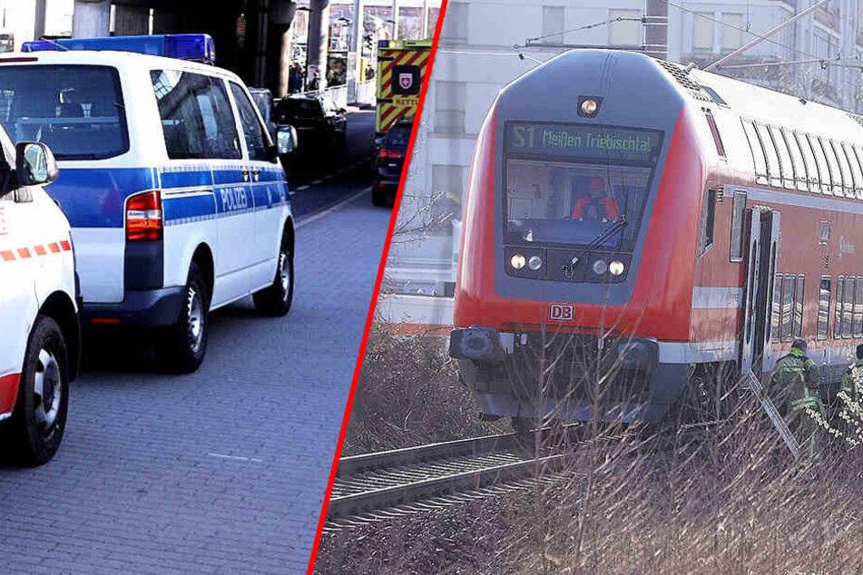 Notarzteinsatz! Zugstrecke zwischen Pirna und Dresden Hauptbahnhof gesperrt