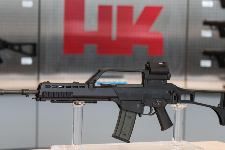 Heckler & Koch soll die Sturmgewehre der britischen Armee modernisieren. (Archivbild)