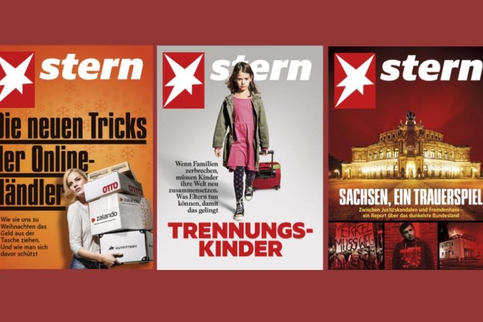 Platz 1, 2 und 3 der schlechtesten Verkäufe der Stern-Geschichte seit 1948.