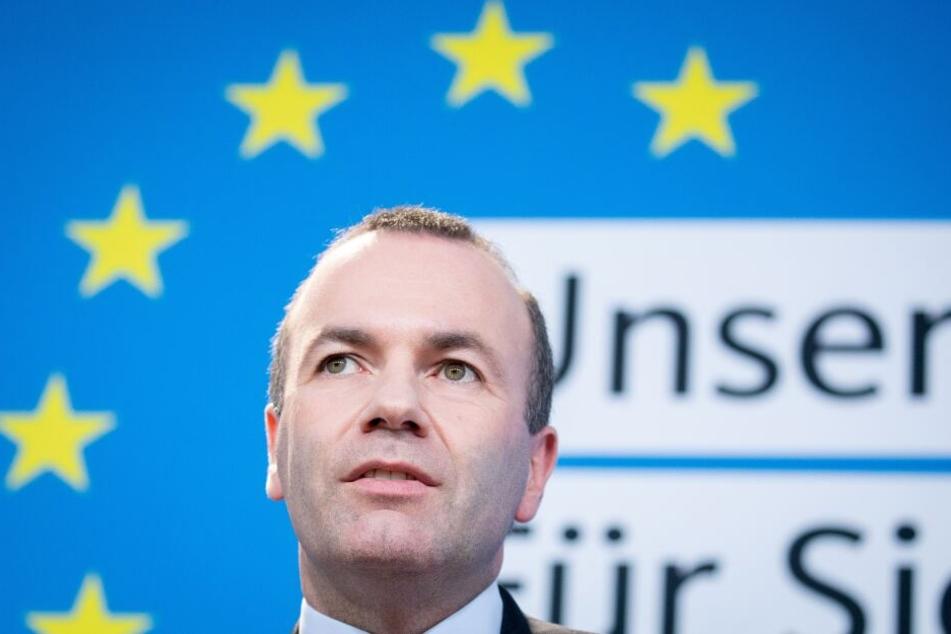 Manfred Weber, EVP-Spitzenkandidat, schließt eine neue Abstimmung für Großbritannien nicht aus. (Archivbild)