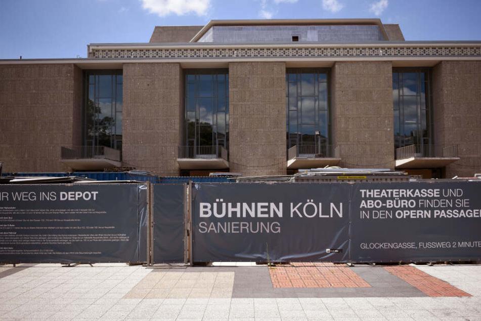 Die Oper Köln wird seit 2012 saniert.