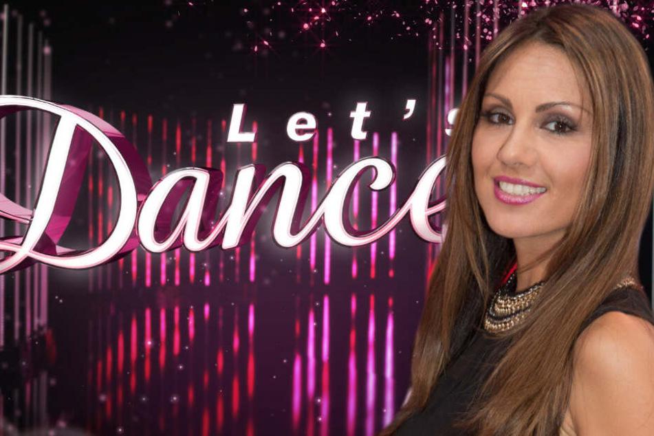 Gemeinsam mit 13 anderen Prominenten wagt sich Nazan Eckes (42) auf die Tanzfläche.