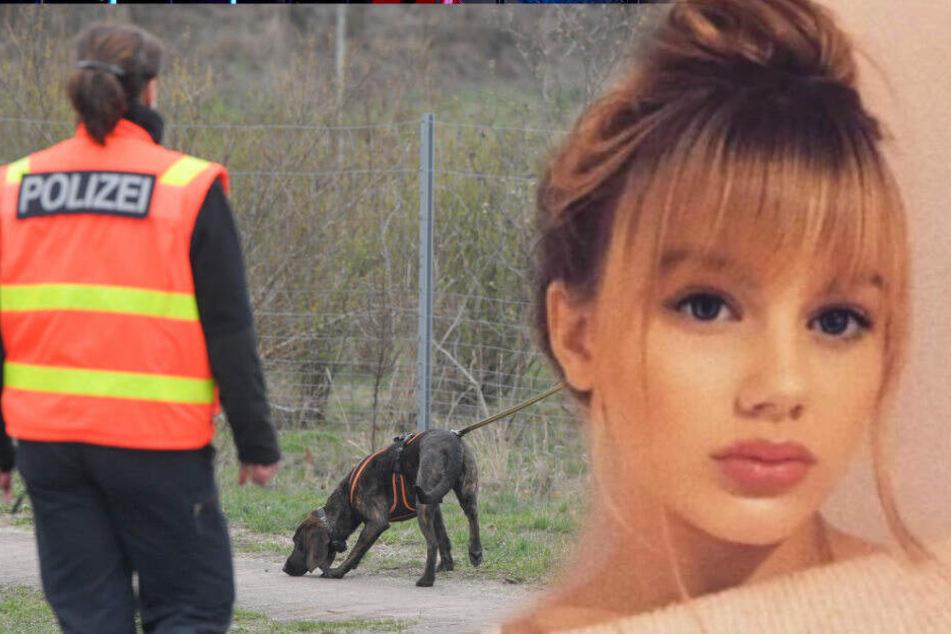 Die Polizei setzt ihre Suche nach Rebecca fort. (Bildmontage)