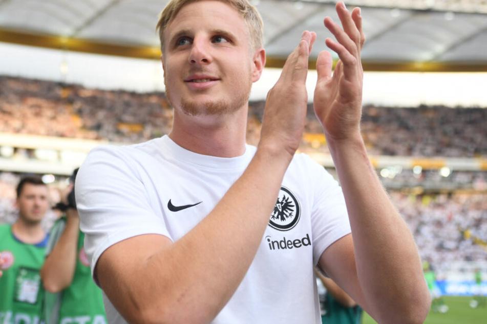 Martin Hinteregger kehrte nach langen Transfer-Hickhack wieder zur Eintracht zurück, nachdem er in der zweiten Saisonhälfte der letzten Spielzeit auf Leihbasis vom FC Augsburg gekommen war.