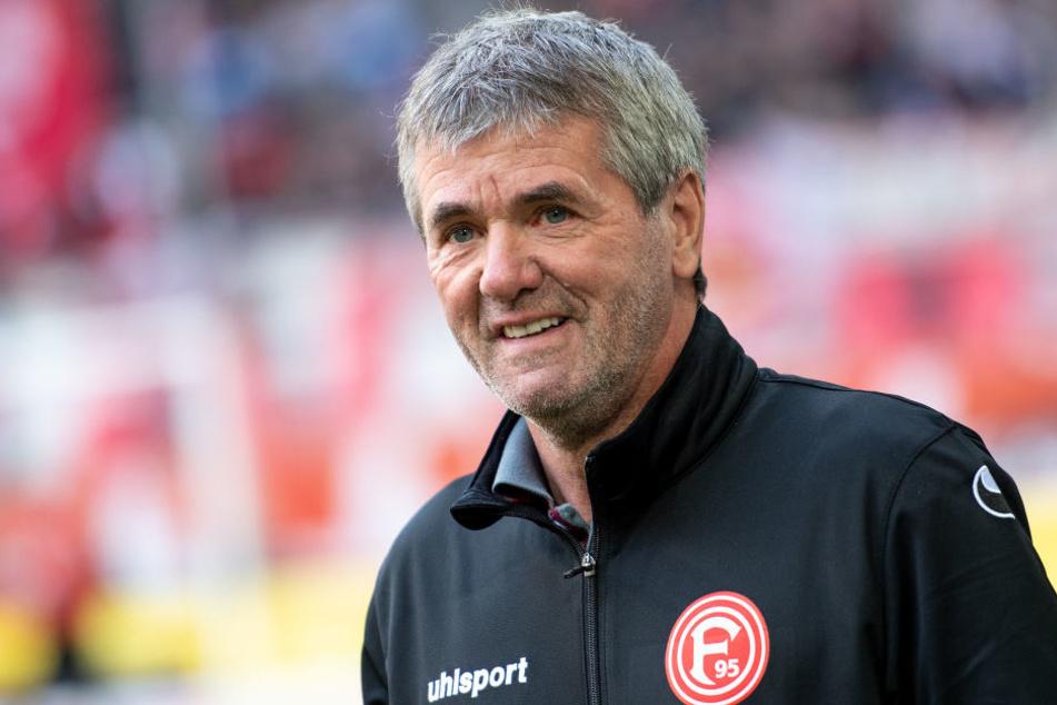 Fortuna Düsseldorfs Trainer Friedhelm Funkel (65) feiert an diesem Montag seinen 65. Geburtstag.