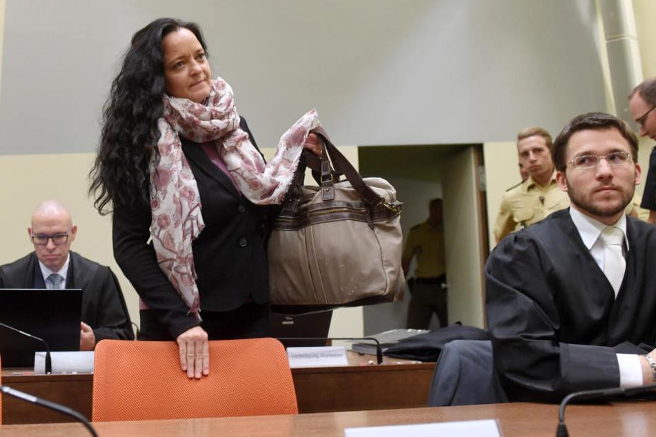 Beate Zschäpe steht seit rund fünf Jahren in München vor Gericht.