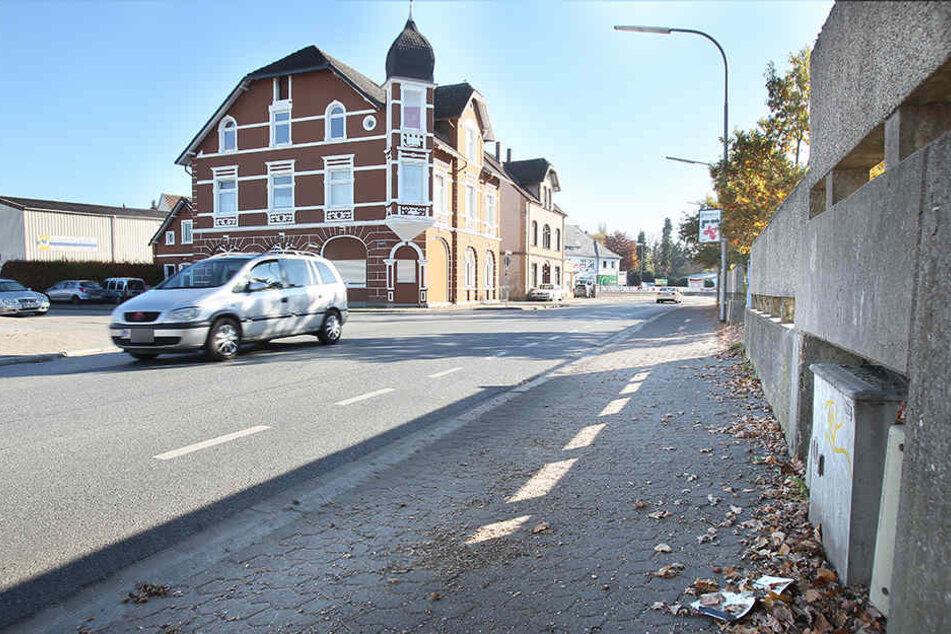 Auf diesem Bürgersteig in der Goebenstraße wurde die 29-jährige Frau gefunden.