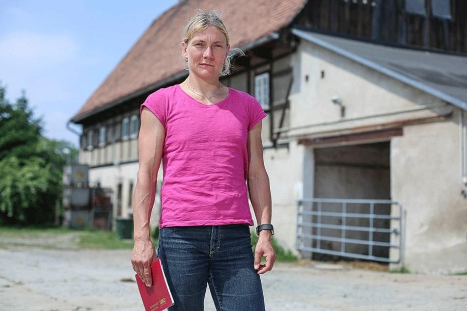 Reitvereins-Chefin Yvonne Henker (39) wurde ein krankes Pferd verkauft.