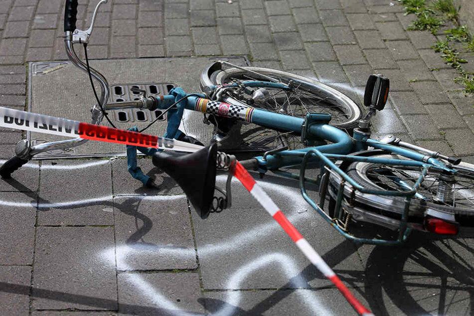 In Bernsdorf sind zwei Fahrradfahrer verunglückt.