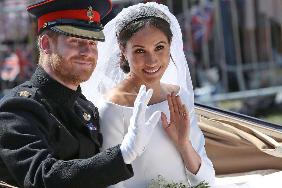 Mit den Goodie Bags demonstrierten Harry und Meghan einmal mehr ihre Volksnähe.
