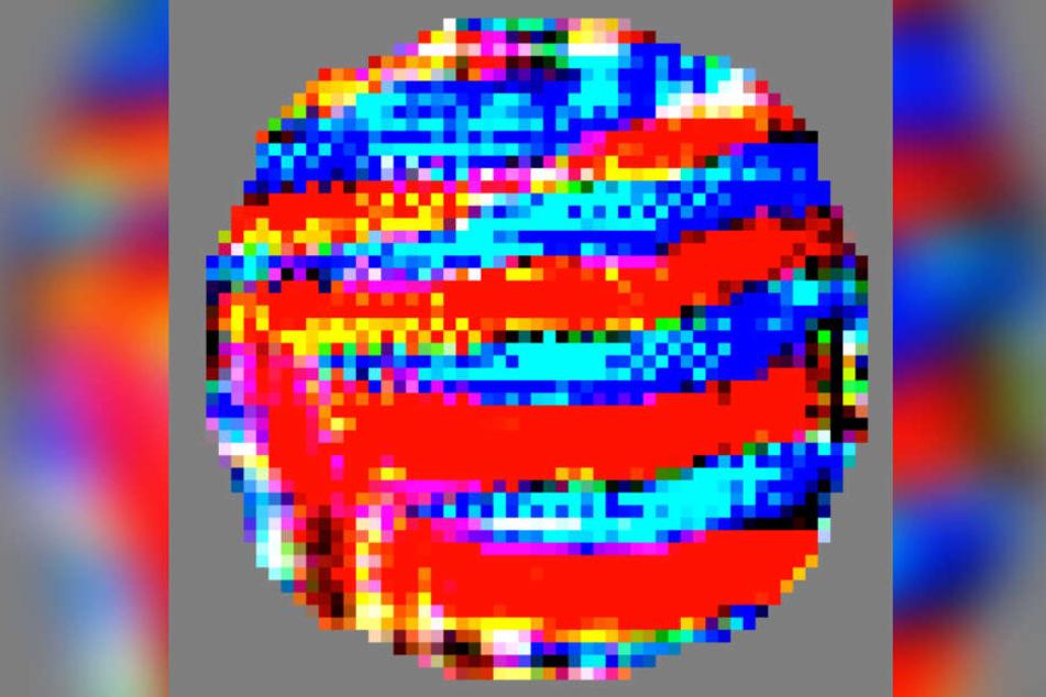 Dieser bunte Pixelfleck ist der Übeltäter - und für Hacker ein mögliches Einfallstor.