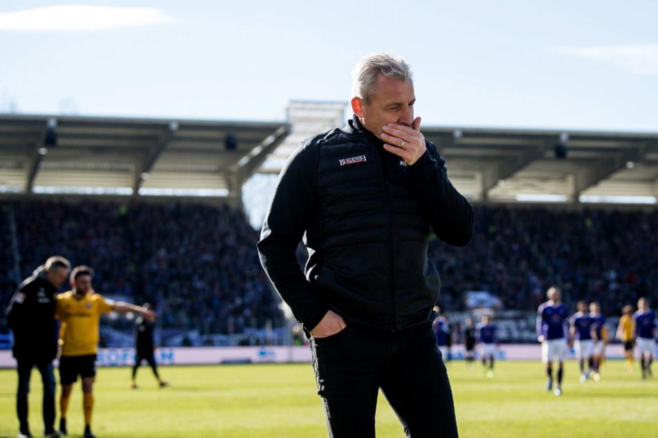 26. Februar 2017: Dresden gewinnt in der 2. Liga das Rückspiel der Saison 2016/17 in Aue mit 4:1. Danach räumte Pavel Dotchev (55) seinen Stuhl beim FCE. Über Rostock kam er 2019 nach Köln.