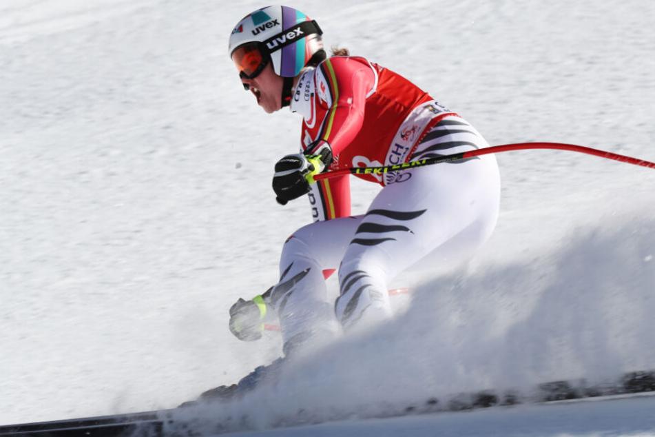 Viktoria Rebensburg hat einen der größten Siege ihrer Karriere gefeiert.