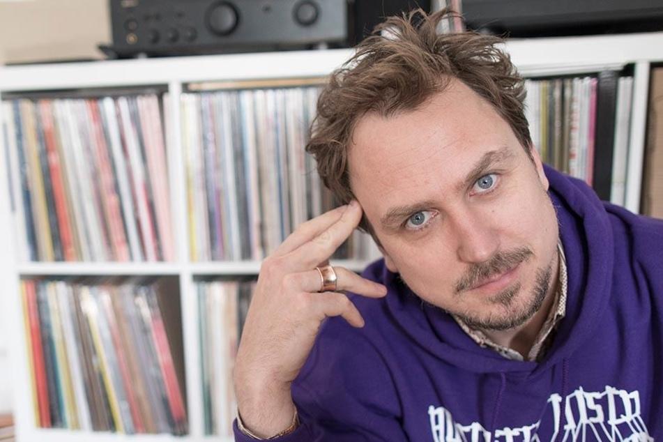 Der Schauspieler und Musiker Lars Eidinger.