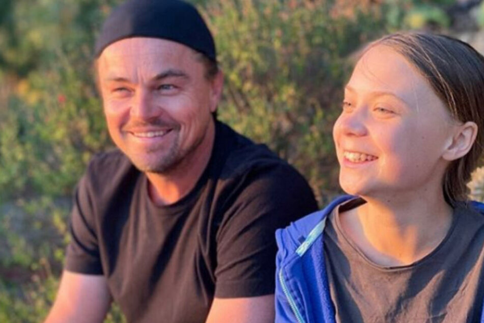 Leonardo DiCaprio und Greta Thunberg machen gemeinsame Sache