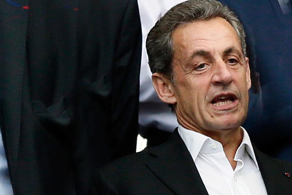 Nicolas Sarkozy (63) befindet sich in Polizeigewahrsam.