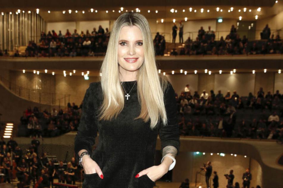 Das Model unterstützte am Wochenende das Channel Aid-Konzert in der Elbphilharmonie.