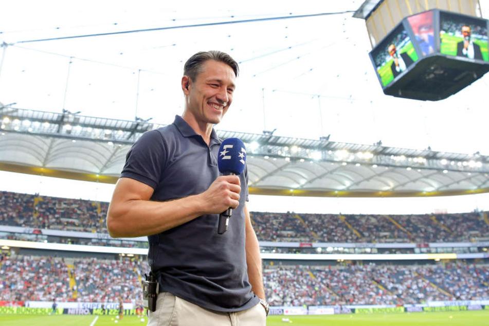Bestens gelaunter Rückkehrer: Bayerns Trainer Niko Kovac.