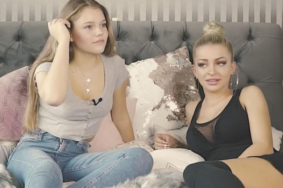 Ein überraschender Anblick: Die sonst so brave Faye Montana hat sich Erotik-Sternchen Katja Krasavice ins Bett geholt.