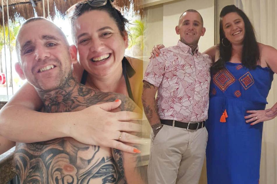 Frau ist schockiert, als sie sieht, was ihr Mann sich für ein Tattoo stechen lassen hat