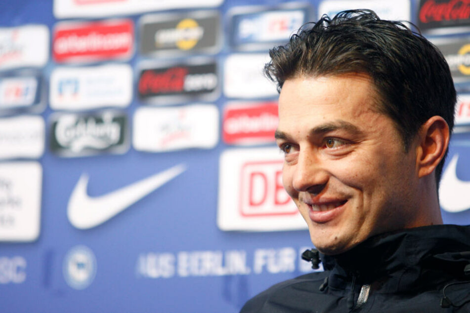 Ante Covic trainiert derzeit die U23 der Hertha.