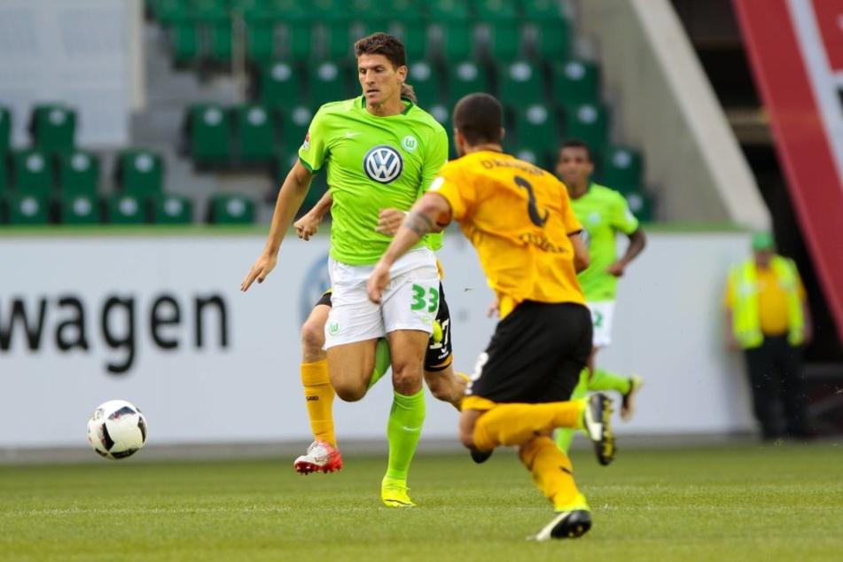 Gomez setzte in der Partie ganz klar die Akzente, forderte die Bälle, spielte kluge Pässe und köpfte das 1:0.