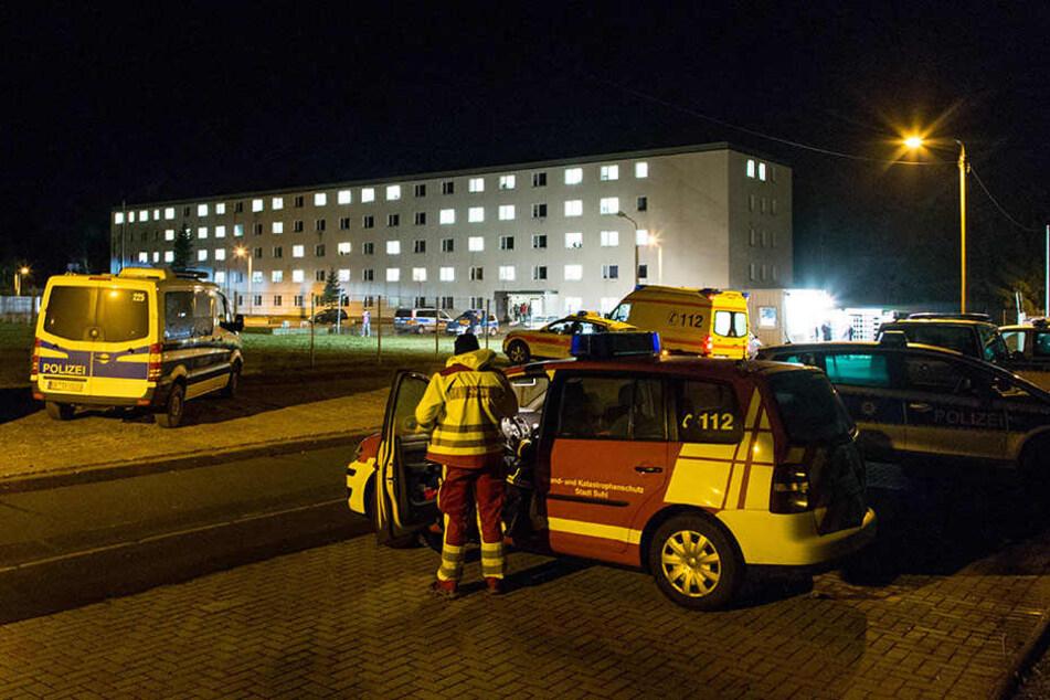 Die Erstaufnahmeeinrichtung für Flüchtlinge in Suhl musste evakuiert werden.