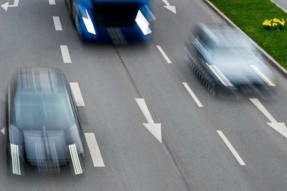 Bei einer Geschwindigkeitskontrolle erwischte die Polizei 125 Raser.