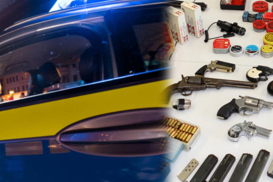 Schwarzwald-Razzia: Polizei durchsucht 22 Wohnungen und findet haufenweise Stoff und Waffen