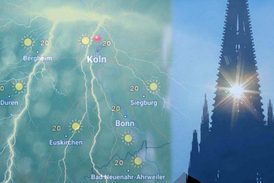 Die große Hitzewelle ist erstmal vorbei: Das Wetter in NRW wird wechselhaft