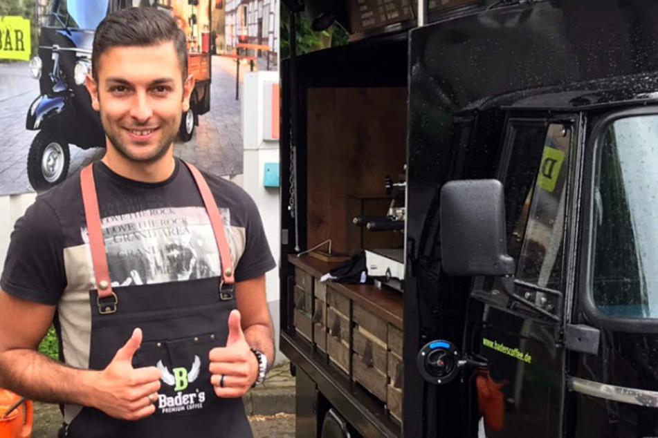 Mustafa Neslihan Yilmaz entdeckte er vor zwei Jahren seine Leidenschaft für Kaffee.